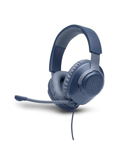 JBL JBL Quantum 100 Mavi Oyuncu Kulaklığı Siyah